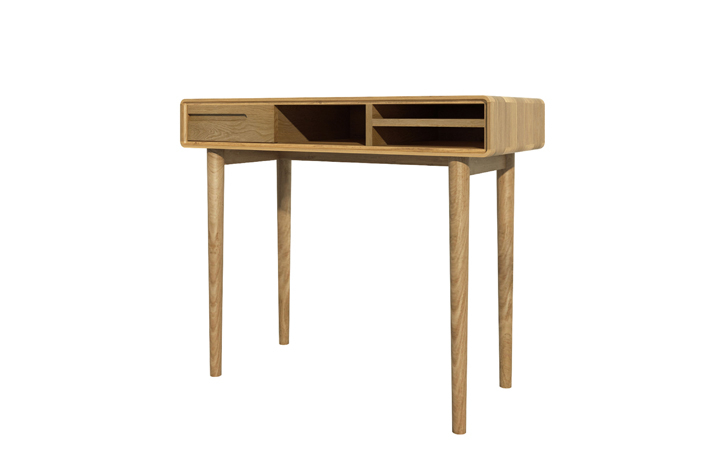 Office Furniture - Kolding Oak Small Computer Desk