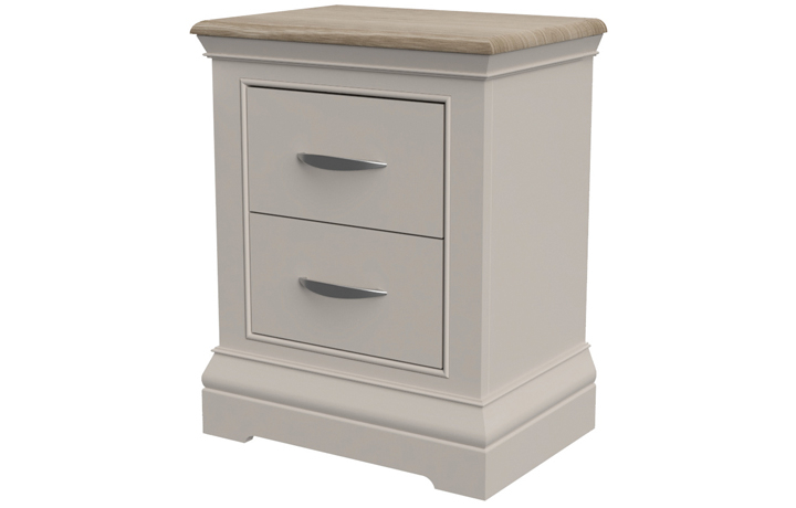 Felicity Painted Collection - Felicity Painted 2 Drawer Bedside