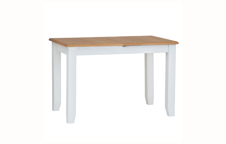 Dining Tables - Columbus White 1.2 Extending Table