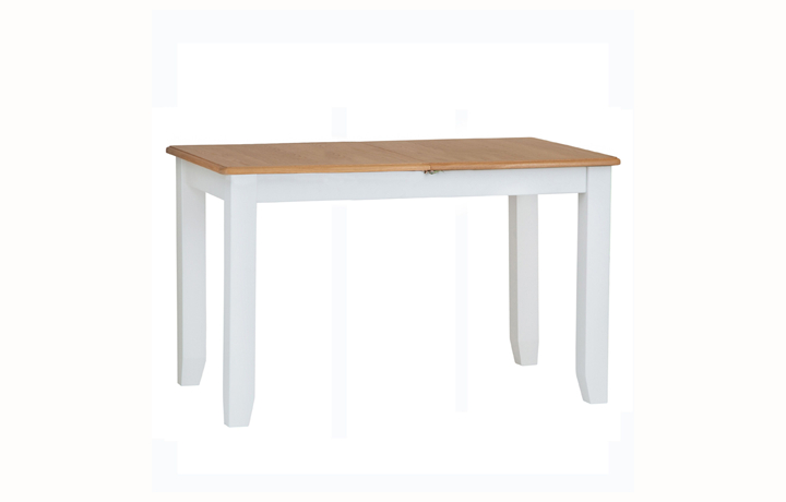 Dining Tables - Columbus White 1.6 Extending Table