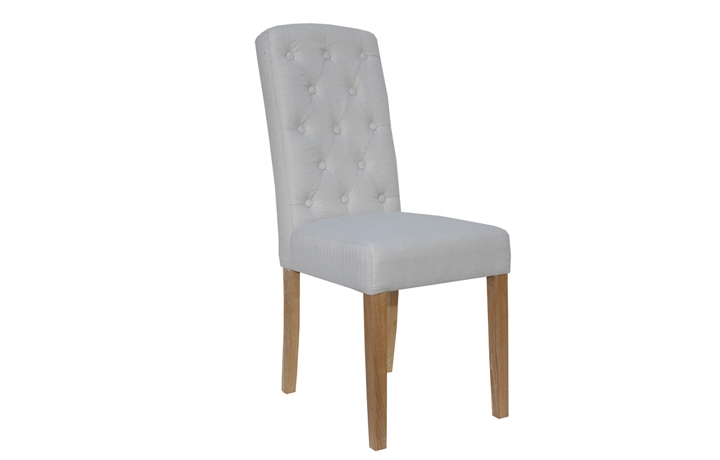 Chairs & Bar Stools - Vienna Natural Upholstered Chair
