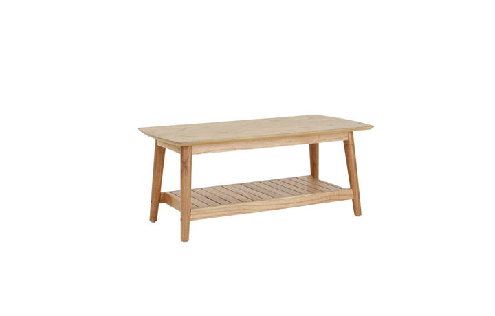 Daro - Finchbury Range - Kayu Coffee Table With Shelf