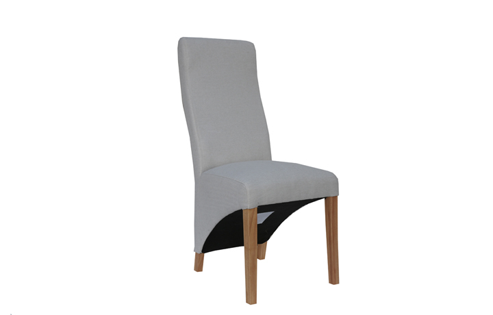 Chairs & Bar Stools - Wave Natural Upholstered Chair