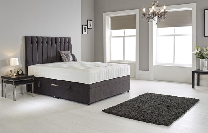 5ft Kingsize Mattress & Divan Bases - 5ft King Size Zero Tex 1400 Mattress