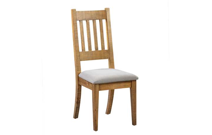 Thetford Rustic Pine Range - Thetford Rustic Pine Dining Chair With Pad