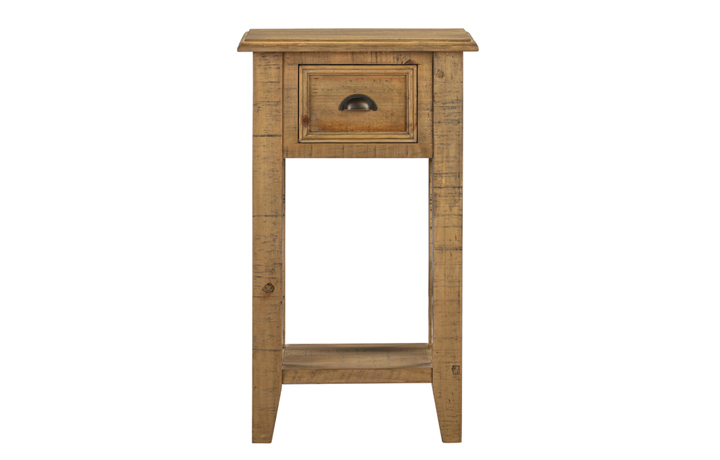 Thetford Rustic Pine Range - Thetford Rustic Pine 1 Drawer Console Table