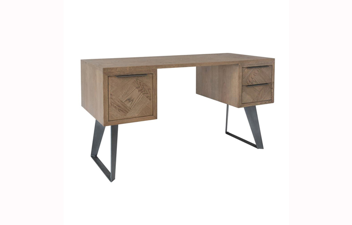 Office Furniture - Marconi Patterned Oak Desk