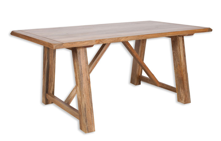 Chennai Solid Mango Collection - Chennai Solid Mango 175cm Dining Table