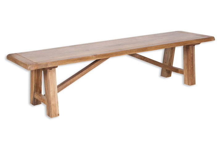 Chennai Solid Mango Collection - Chennai Solid Mango 200cm Bench