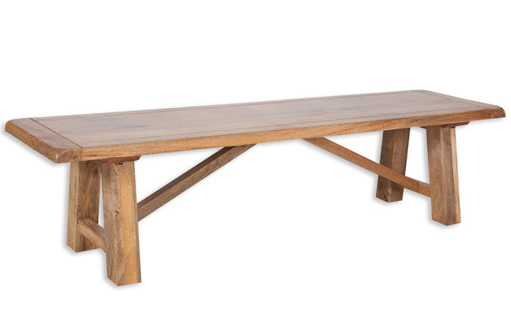 Chennai Solid Mango Collection - Chennai Solid Mango 175cm Bench