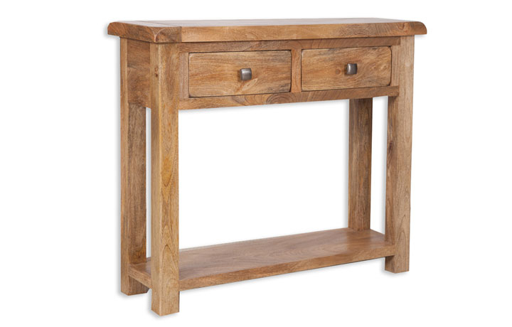 Chennai Solid Mango Collection - Chennai Solid Mango 2 Drawer Console Table