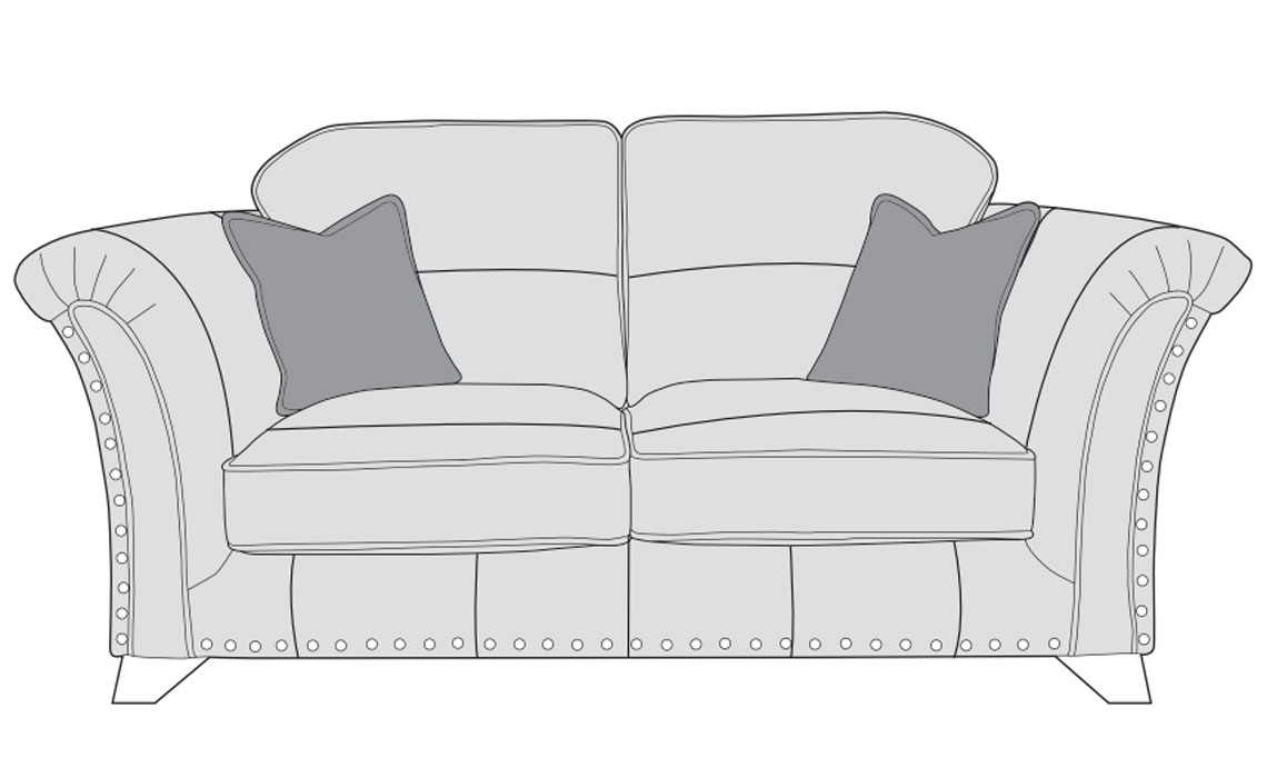 Mayfair Leather Collection - Mayfair Leather 2 Seater Sofa