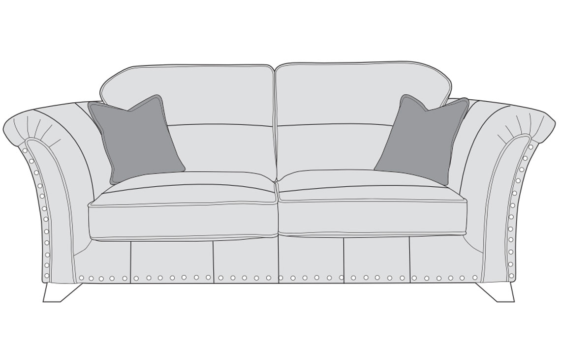 Mayfair Leather Collection - Mayfair Leather 3 Seater Sofa
