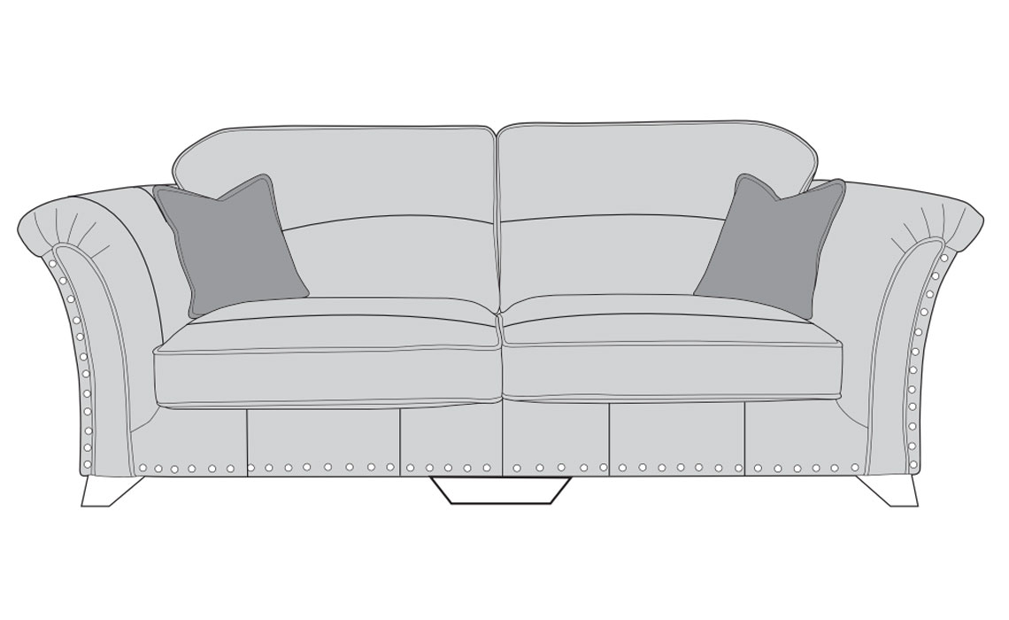 Mayfair Leather Collection - Mayfair Leather 4 Seater Modular Sofa
