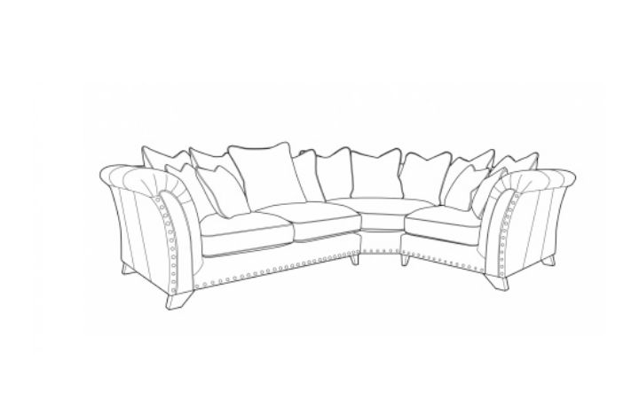 Weston Sofa Collection  - Weston Medium Pillow Or Standard Back Corner Group